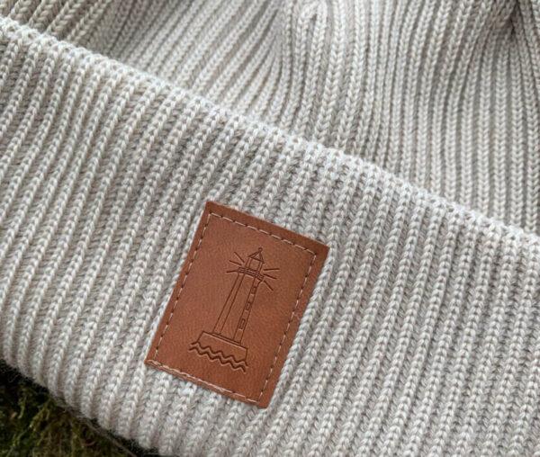 BEACON merino wool beanie vanilla
