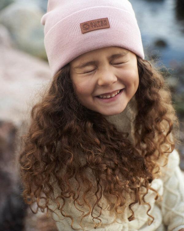 MIDI Kids beanie light pink
