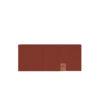 SAAME Merino wool headband brick red