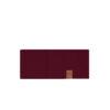 SAAME Merino wool headband burgundy