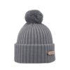 KIDE Merino wool beanie light grey