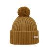 KIDE Merino wool beanie mustard